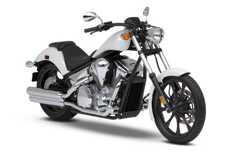 2014 Honda Fury White