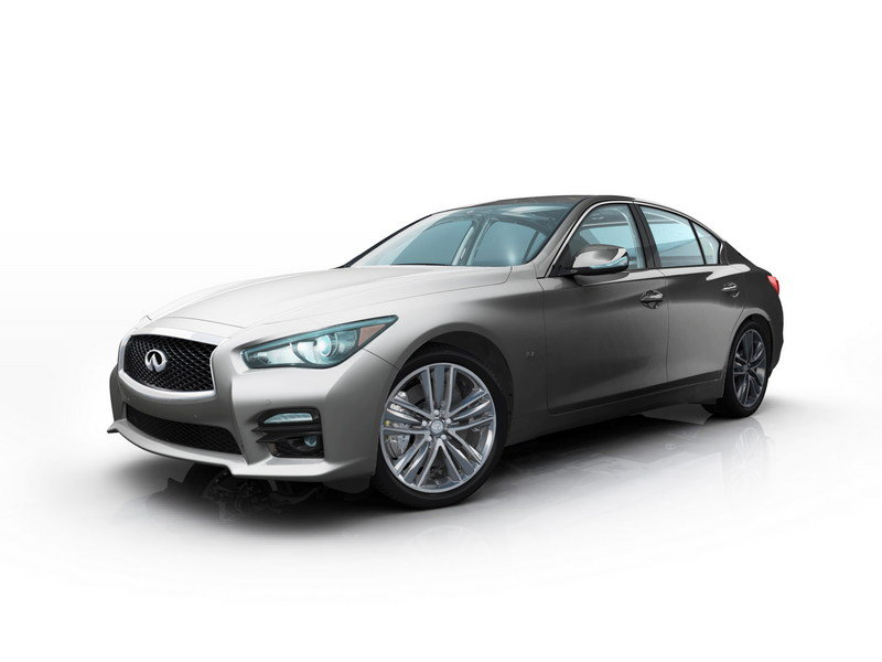 2014 Infiniti Q50 by Thom Browne and Zac Posen