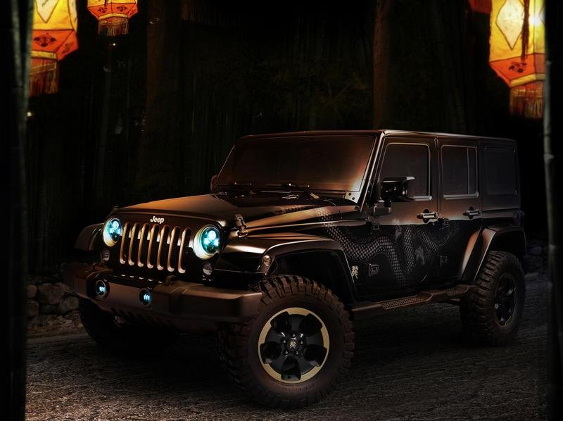 2014 Jeep Wrangler Dragon Edition High Resolution Exterior Wallpaper quality - image 523486