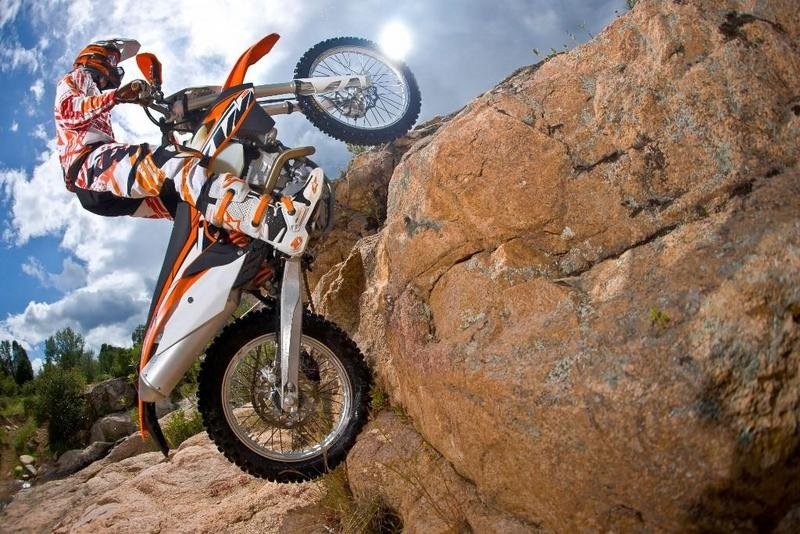 2014 KTM 500 EXC | Top Speed