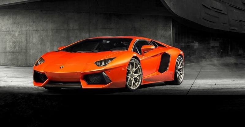 2013 Lamborghini Aventador V With Dry Carbon Fiber Package By Vorsteiner
