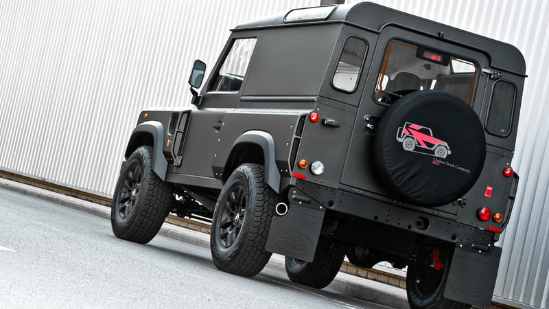 2013 Land Rover Defender Chelsea Wide Track by Kahn Design High Resolution Exterior - image 524773