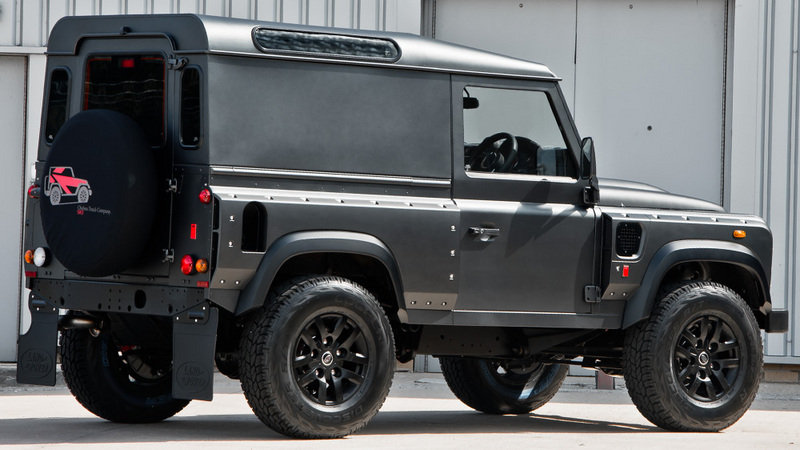 2013 Land Rover Defender Chelsea Wide Track by Kahn Design High Resolution Exterior - image 524777