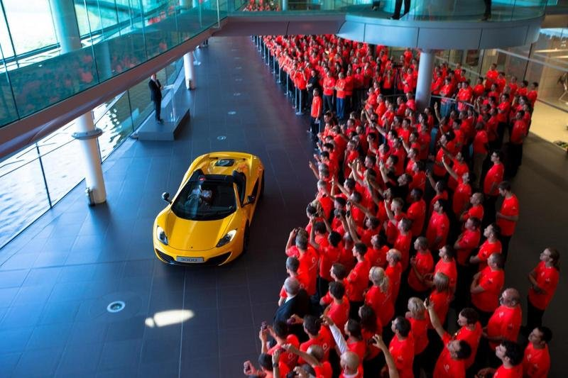 McLaren Builds 3,000th 12C In Time For 50th Anniversary