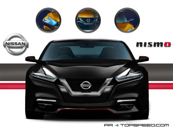 2016 nissan maxima nismo car review top speed. Black Bedroom Furniture Sets. Home Design Ideas