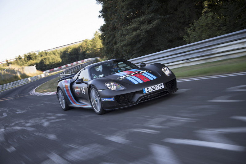 Porsche 918 Spyder Laps Nurburgring in 6:57 High Resolution Exterior - image 522637