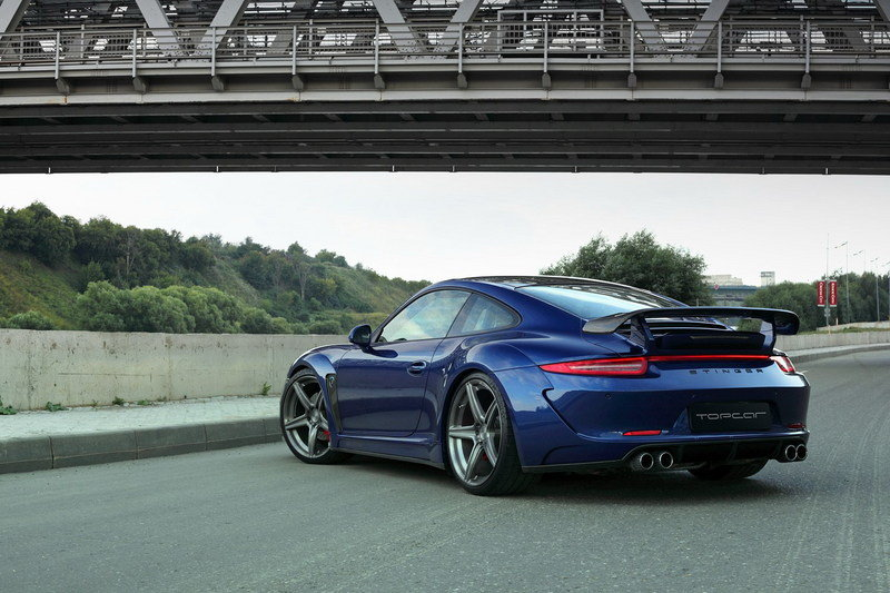 2013 Porsche 991 Carrera 4S Stinger by TopCar High Resolution Exterior - image 522034