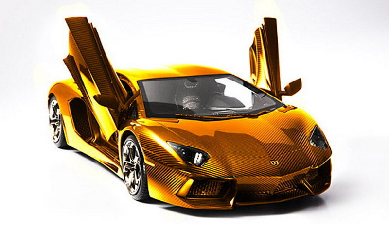 Solid Gold Lamborghini Can be Yours For Over $7 million