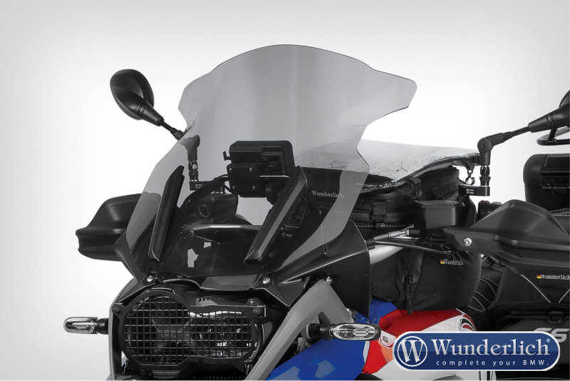 New Wunderlich windscreen for the BMW R1200GS