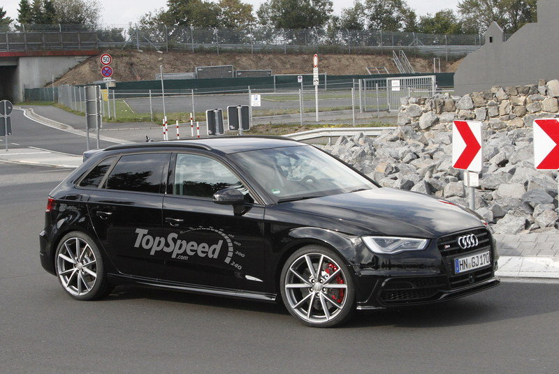 Spy Shots: 2014 Audi RS3 Caught Testing Near the Nürburgring