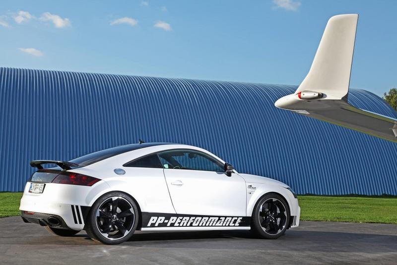 2013 Audi TT RS Black and White Edition by PP Performance High Resolution Exterior - image 530216