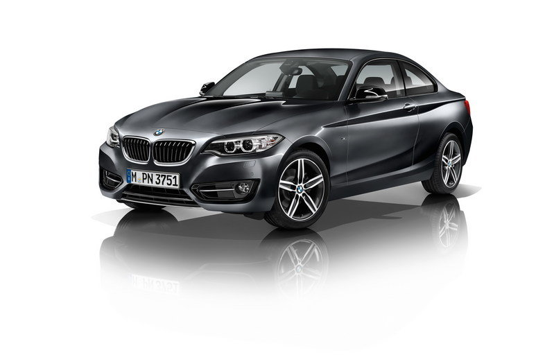 2014 - 2015 BMW 2 Series Coupe High Resolution Exterior - image 530077