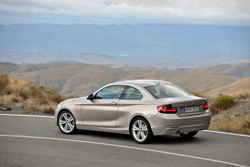 2014 - 2015 BMW 2 Series Coupe High Resolution Exterior - image 530080