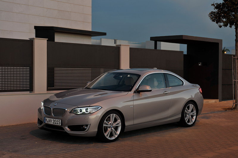 2014 - 2015 BMW 2 Series Coupe
