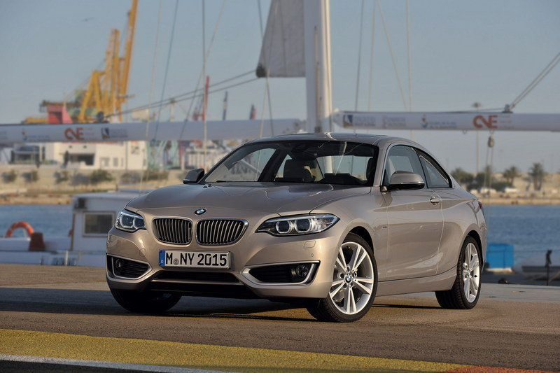 2014 - 2015 BMW 2 Series Coupe High Resolution Exterior - image 530084