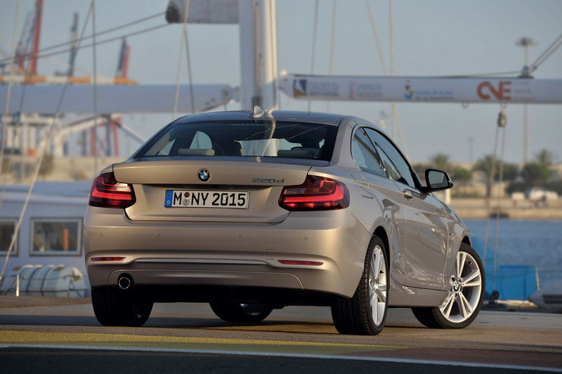 2014 - 2015 BMW 2 Series Coupe High Resolution Exterior - image 530085