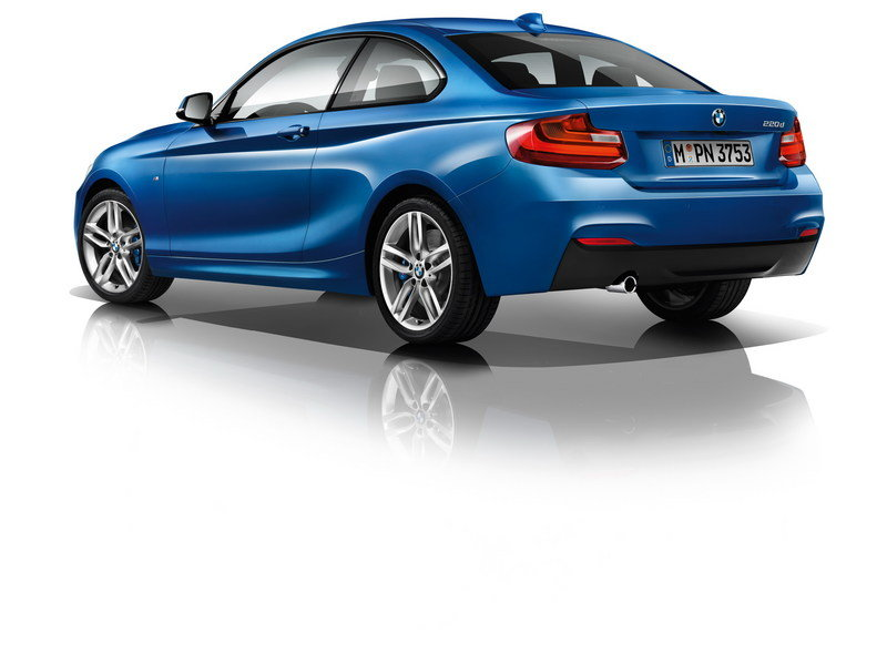 2014 - 2015 BMW 2 Series Coupe High Resolution Exterior - image 530075
