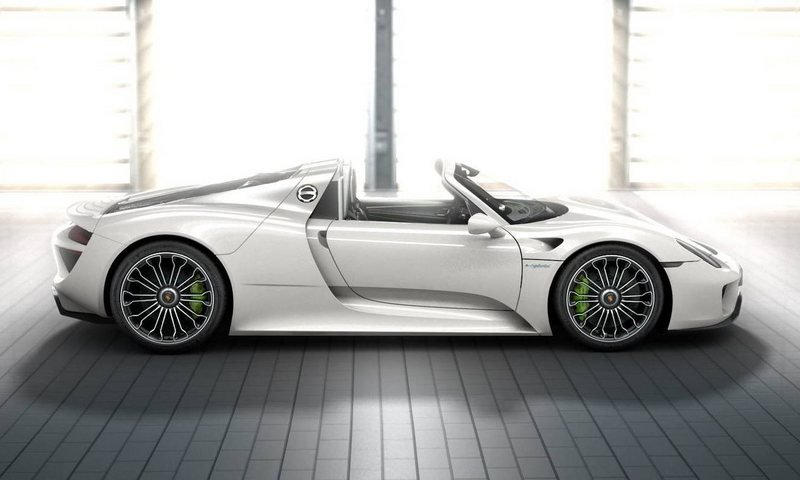2013 Porsche 918 Spyder's Order Book and Colors are Drool-worthy