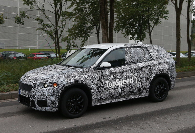 Spy Shots: 2015 BMW X1 Caught on German Roads