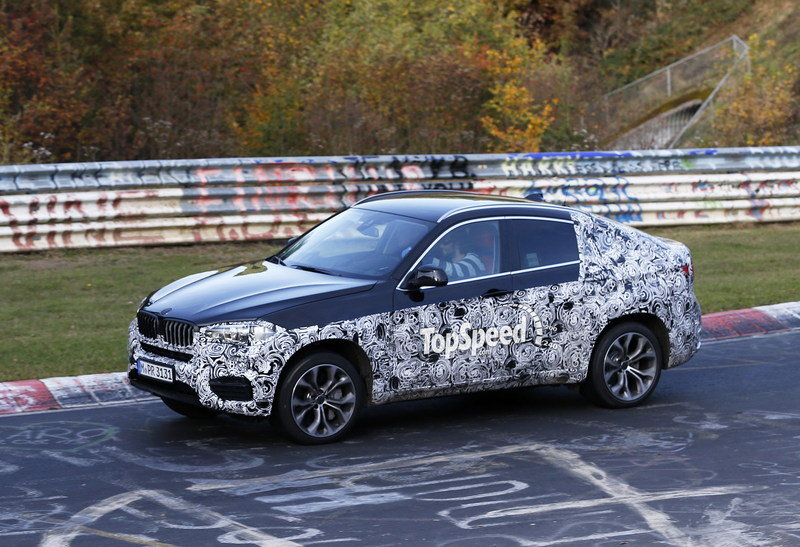 Spy Shots: Next BMW X6 Caught Testing for the First Time