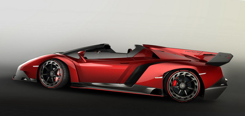 2015 Lamborghini Veneno Roadster Top Speed