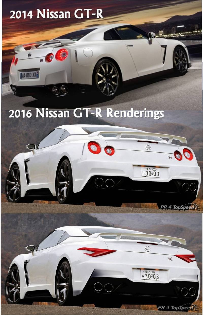 2019 Nissan GT-R Exterior Computer Renderings and Photoshop - image 526625