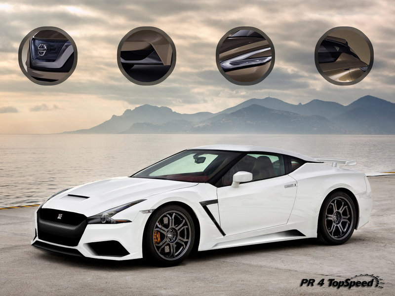 Everything We Know About the Next-Gen Nissan GT-R Exclusive Renderings - image 526627