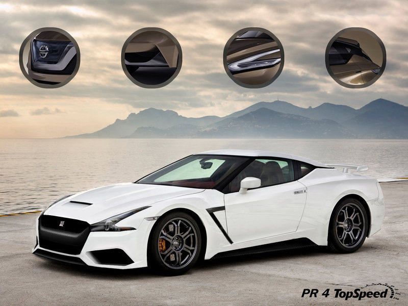 2019 Nissan GT-R Exclusive Renderings - image 526628