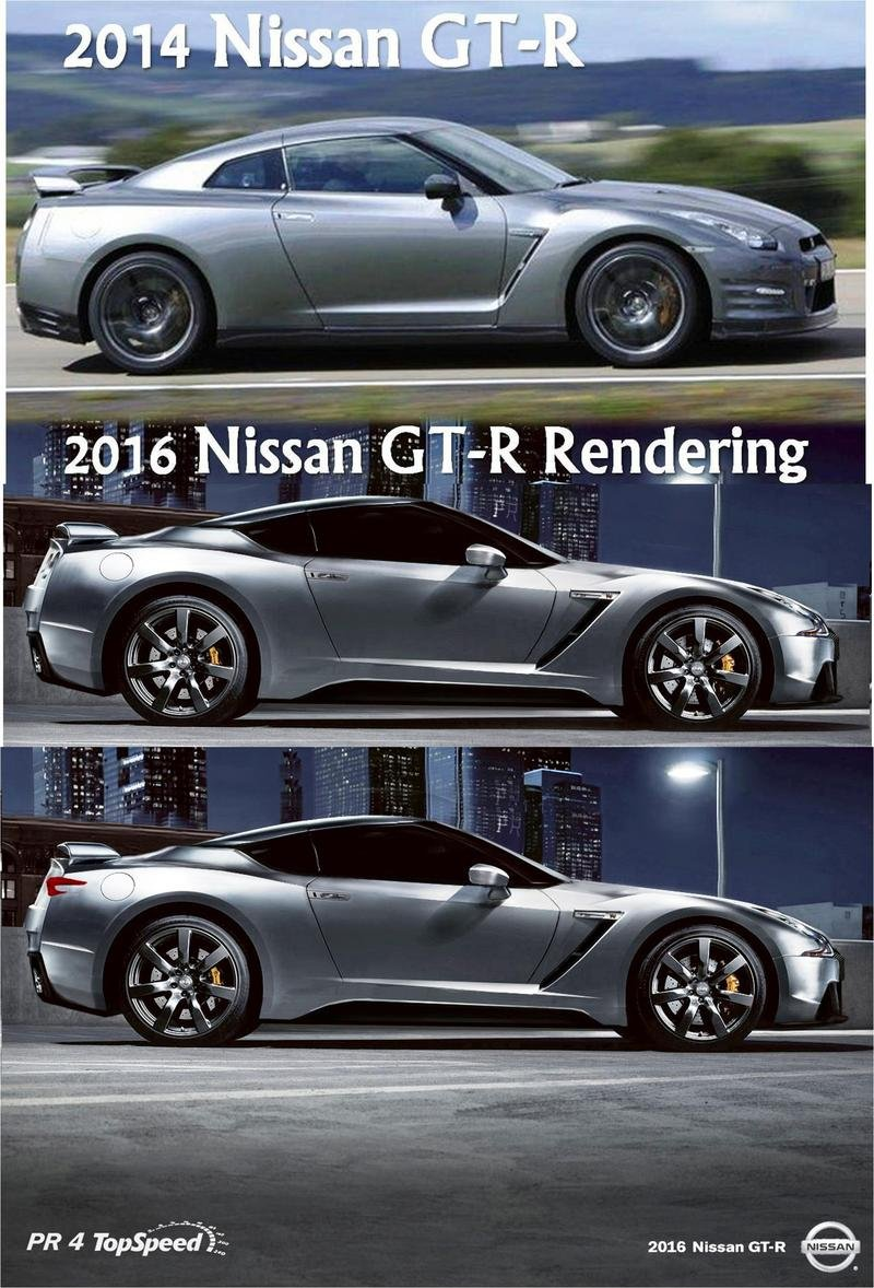 2019 Nissan GT-R Exterior Computer Renderings and Photoshop - image 526624