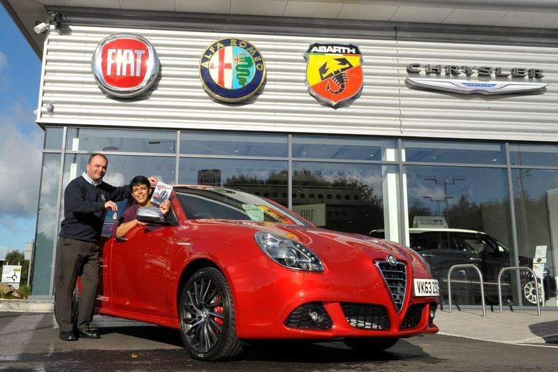 "2013 Alfa Romeo and MTV Give Away ""Fast & Furious 6"" Special Edition 2013 Giulietta"