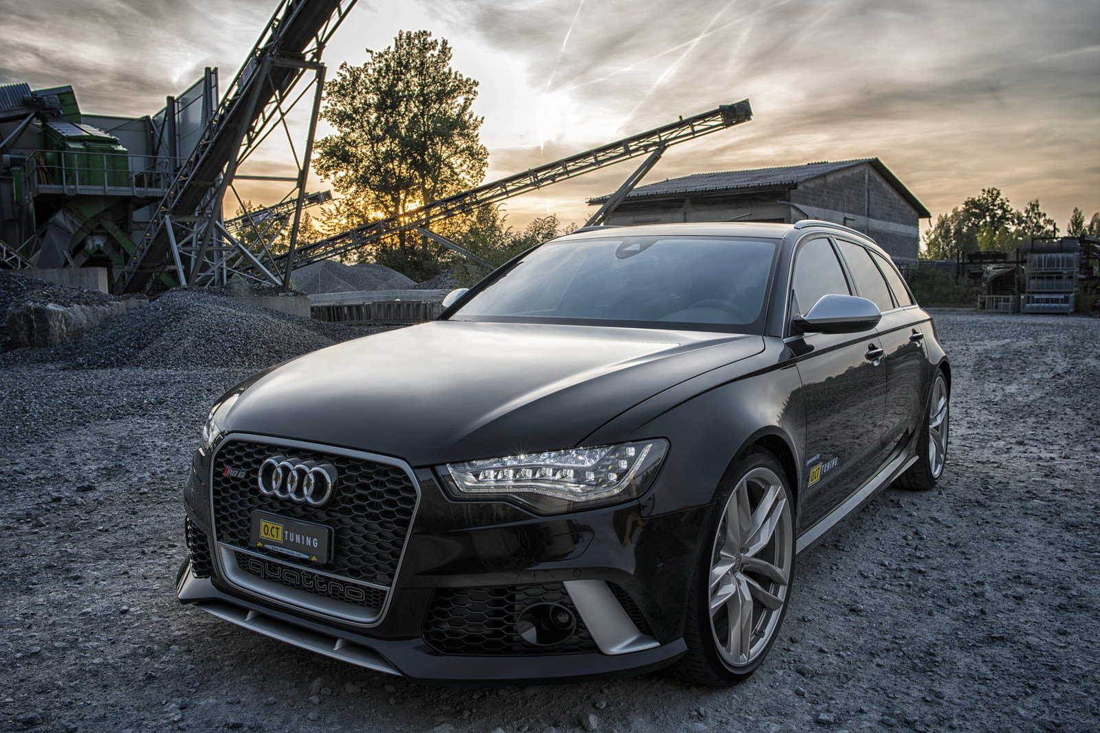 2013 audi rs6 by oct tuning review top speed. Black Bedroom Furniture Sets. Home Design Ideas