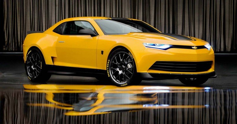 "2014 Chevrolet ""Transformers 4"" BumbleBee Camaro High Resolution Exterior - image 529638"