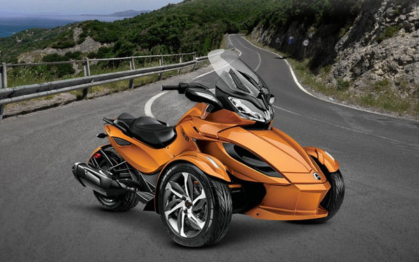 Spyder Motorcycle Price >> 2014 Can-Am Spyder ST-S | motorcycle review @ Top Speed