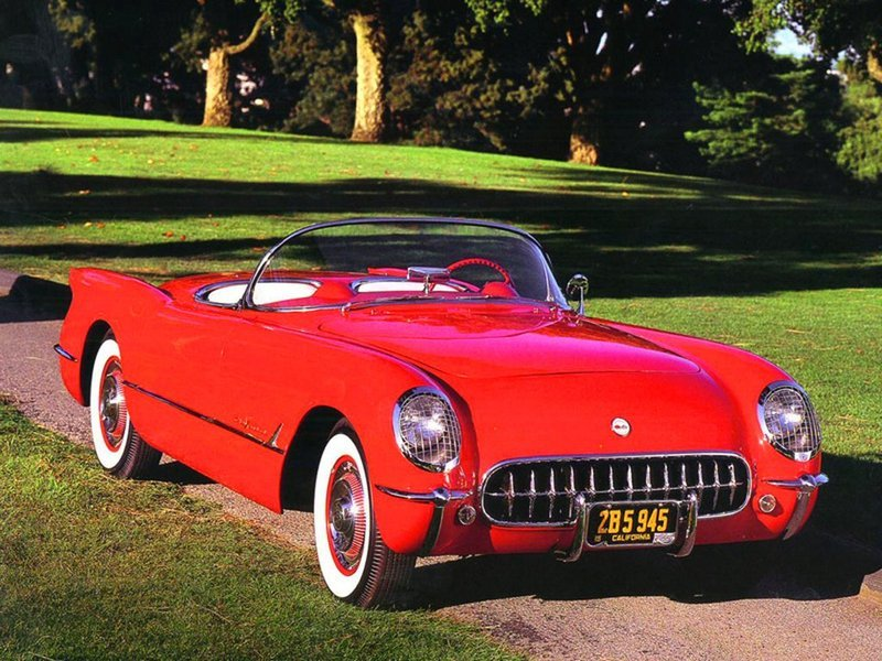 1953 - 1962 Chevrolet Corvette C1 High Resolution Exterior - image 526702