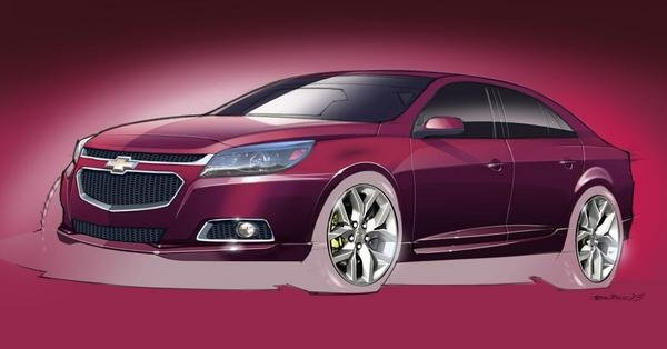 2014 chevrolet malibu ltz concept car review top speed. Black Bedroom Furniture Sets. Home Design Ideas