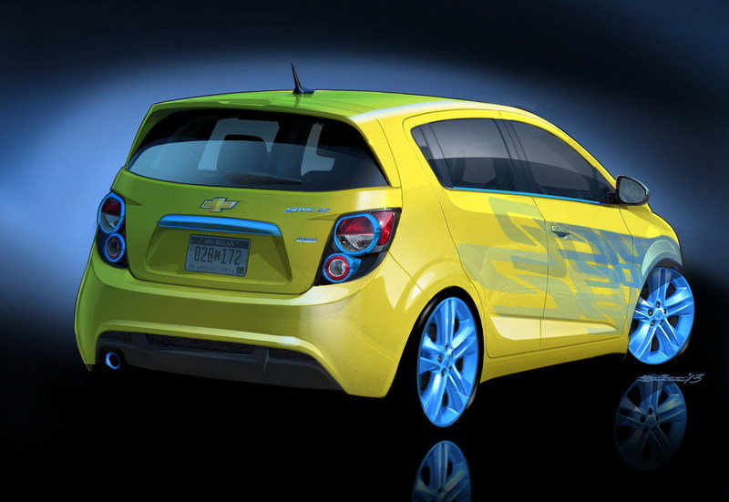 2013 Chevrolet Performance Sonic RS Concept