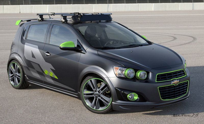 2014 Chevrolet Sonic Ricky Carmichael All-Activity Concept