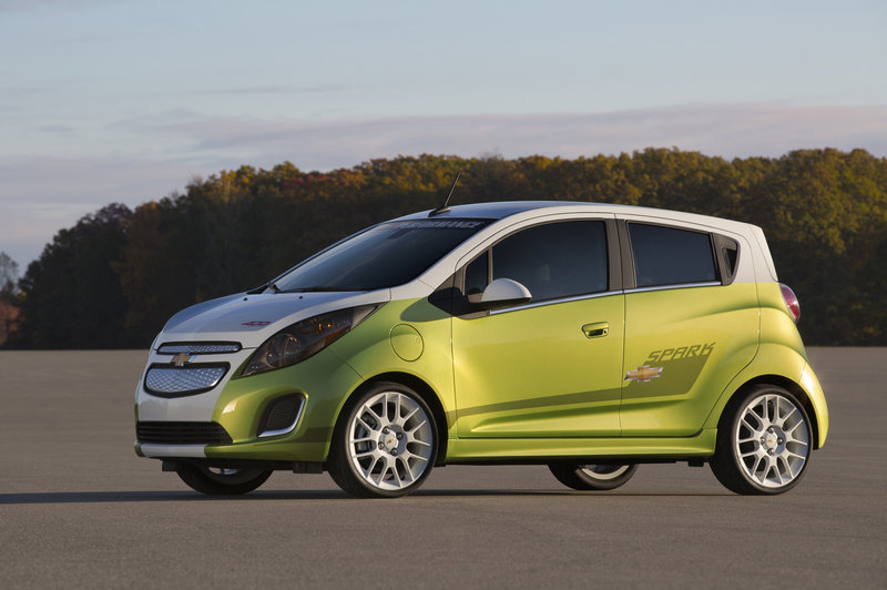 2014 Chevrolet Spark EV Tech Performance Concept