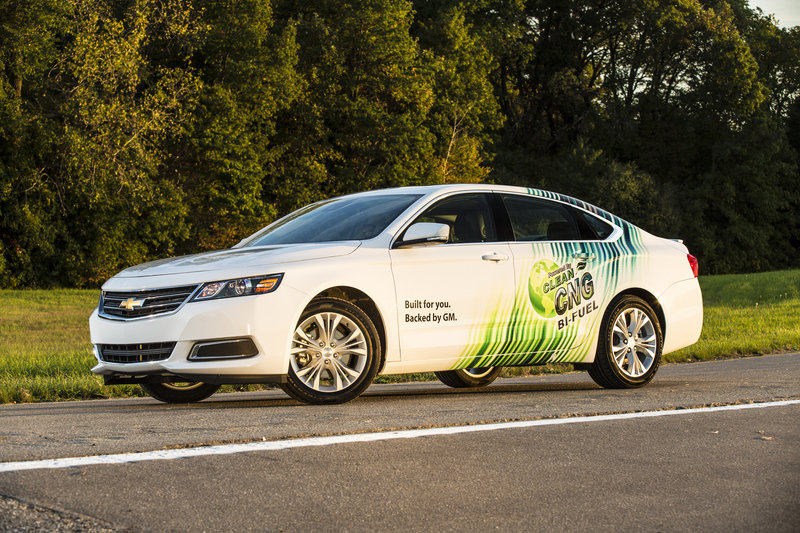 CNG 2015 Chevy Impala Is So Clean It Makes Prius Look Like Hummer