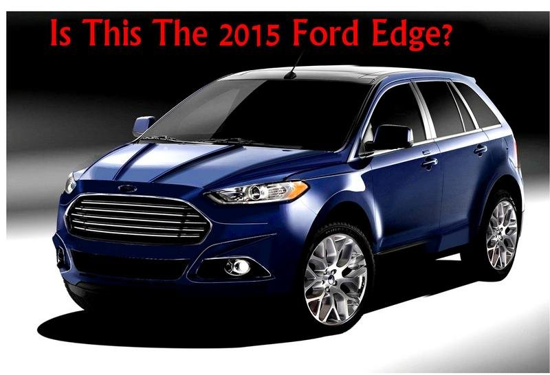 2015 Ford Edge - Buzz Grows Ahead of LA Debut and Global Sales