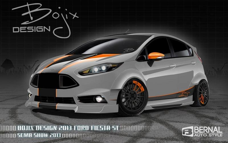 2014 Ford Fiesta ST by Bojix Design