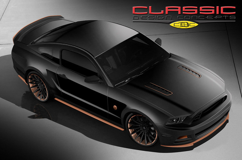 2014 Ford Mustang Bad Penny by Classic Design Concepts High Resolution Exterior - image 530619