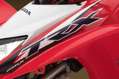 2014 Honda TRX250X Emblems and Logo Exterior - image 527636