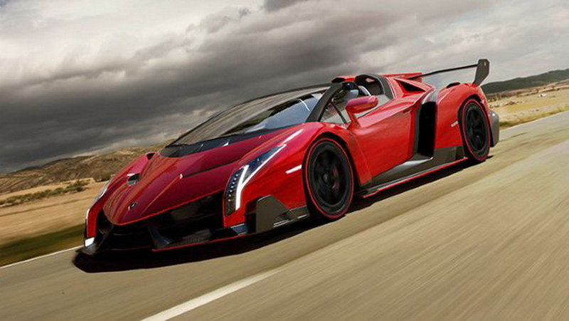 Is this the real Lamborghini Veneno Roadster?