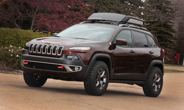 2014 jeep cherokee trail carver review top speed. Black Bedroom Furniture Sets. Home Design Ideas