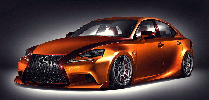 2014 Lexus IS F-Sport by Paul Tolson and Gabriel Escobedo