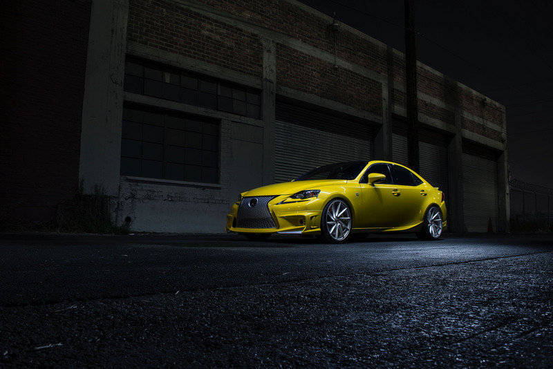 2014 Lexus IS350 F-Sport by Vossen Wheels