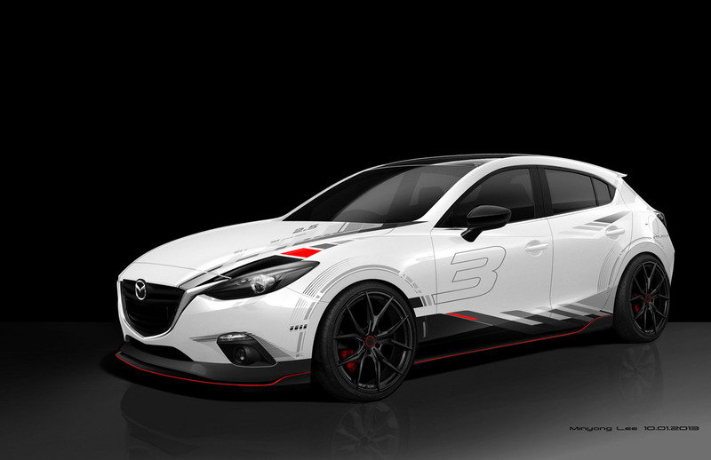 Mazda Drops the Curtain on its SEMA-Bound Models