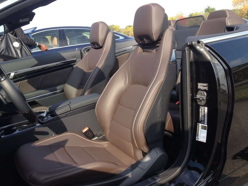 2014 Mercedes-Benz E550 Cabriolet - Driven Interior - image 529286