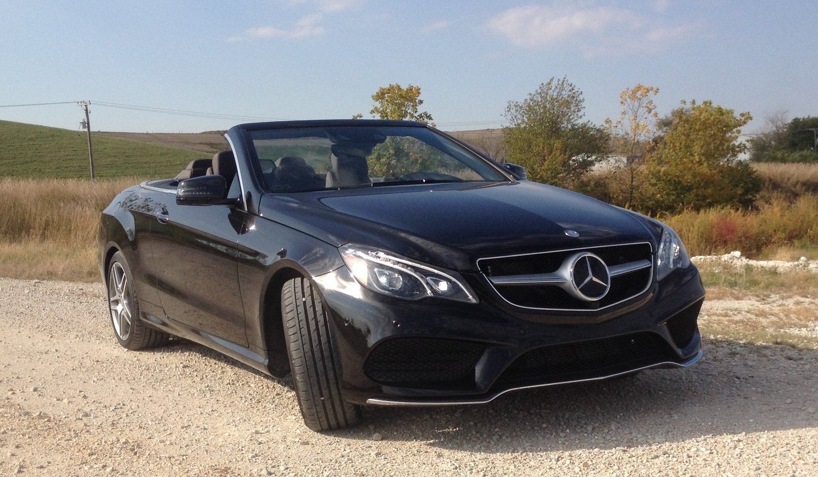 2014 mercedes benz e550 cabriolet driven picture